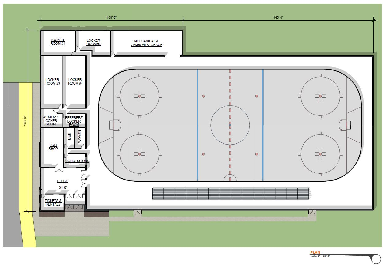 Blackstone Valley Ice Arena Bild ARCHITECTURE